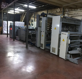 Used Mobert Bag on Roll Machine