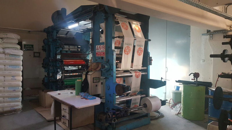 Stack Type, Flexo Printing Machine